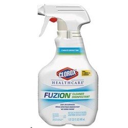 Clorox Sales Co., Fuzion Cleaner Disinfectant, Unscented, CLO31478, 32 oz Spray Bottle, 9/Carton, sold as each