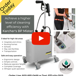 Introducing the Windsor - Karcher PS 4/7 BP Mister Hospital Grade Disinfection