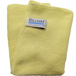 Hillyard, Trident General Purpose Microfiber Cloth, 16 x 16 inch, Yellow, HIL20027, sold as 1 each