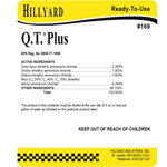 Hillyard, Secondary Label for 824 Arsenal Q.T. Plus, HIL31824, sold as each