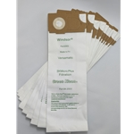 Green - Kleen, vacuum bag for Versamatic, 991-9004 sold as a pack of ten