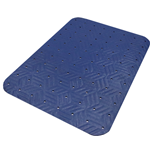 M + A Matting, Matting, Wet Step Mat, 2x3, With Holes, Blue, 789-2x3-Blue, sold as each