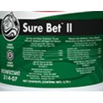 Betco, Secondary Label for Sure Bet II Foaming Cleaner, 3149090, sold as each