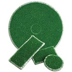 ETC of Henderson Inc, Ruff 12 x 18 inch, Green, 29851218, 4 pads per case, sold as each