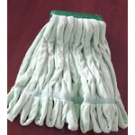 Golden Star, Relintless Microfiber Wet Mop, Green,  Medium, 5 in headband, AWM94MG5, 12 per case, sold as each