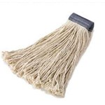 GoldenStar, 8 Ply King Cotton Mop, White, 32 oz cut end, 1.25 in headband, AWM4032, 12 mops per case, sold as 1 mo