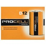 Hensley, Duracell, Procell, Industrial Battery Size D, Heavy Duty Alkaline, 813Bulk, (was ENEEN95) sold as 1 battery