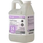 Hillyard Arsenal Carpet Pre Spray #14, dilution control half gallon, HIL0081422, 6 half gallons per case, sold as 1 half gallon