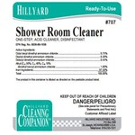 Hillyard, Arsenal Label 707 C2 Shower Room Cleaner, HIL32707, sold as each, 25 per package