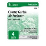 Hillyard, Arsenal Label 804 Country Garden Air Freshener, HIL31623, sold as each, 25 per package