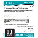 Hillyard, Arsenal Label 811 Restroom Cleaner Disinfectant, HIL31618, sold as each, 25 per package
