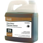 Hillyard, Arsenal One, Green Select Degreaser Cleaner #28, Dilution Control, HIL0082825, Four 2.5 liter bottles per case, sold as One 2.5 liter bottle.