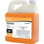 Hillyard, Arsenal One, Sanitizer #25, Dilution Control, HIL0082525, Four 2.5 liter bottles per case, sold as One 2.5 liter bottle.