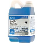 Hillyard, Green Select Glass Cleaner, Concentrated, For C2, C3,  HIL0071222, 6 Half Gallons per Case, sold as 1 half gallon.