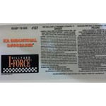 Hillyard, Secondary Label for #137 KA Industrial Degreaser, HIL31137, sold as each