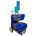 Hillyard, Trident Cafeteria Cart Kit, sscHIL005001, Sold Complete