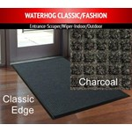 M + A Matting, Matting, Waterhog Classic, 3x5, Charcoal, Smooth Back, 200-3x5-154S, sold as 1 each