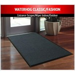 M + A Matting, Matting, Waterhog Classic, 6x8, Charcoal, Smooth Back, 200-6x8-154S, sold as each.