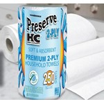 Paper Towel - Kitchen Roll - High Capacity - 250HC