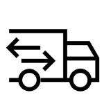 Pick Up and Delivery of Equipment.  Generally, you will need two of these, transporting the equipment in both directions.  Milea