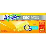 Proctor and Gamble, Swiffer 360 Duster Extender Kit, Handle and Cloth, PGC82074, 3 duster per box, 6 boxes per case, sold as 1 c