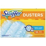 Proctor and Gamble, Swiffer Dusters Refill, Light Blue, Unscented, PGC21459CT, 10 dusters per box, 4 box per case, sold as case