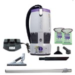 Proteam, GoFree Flex Pro, Cordless Backpack Vacuum, w/ ProBlade Hard Surface Floor Tool Kit, 6qt, 12AH, 107540, sold as each.