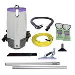 ProTeam, Super Coach Pro 10 Backpack Vacuum with 107530 attachment kit, 107536, sold as each