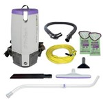 ProTeam, Super Coach Pro 10 Vac Backpack, Contains Attachment Kit 107100, 107303, sold as 1 unit
