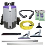 ProTeam, Super Coach Pro 6 Vac Backpack, Contains Attachment Kit 107532, 107535, sold as 1 unit