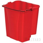 Rubbermaid, Dirty Water Bucket, Red, RUB9C74RD, 6 per case, Sold as each
