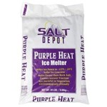 Salt Depot, Purple Heat, Ice Melt, 50 lb Bag, PH50, 49 per Pallet, sold as each