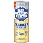 Servaas, Bar Keepers Friend, Powdered Cleaner and Polish, 21oz can, 12 Cans per Case, BKF11514CT, sold as 1 case