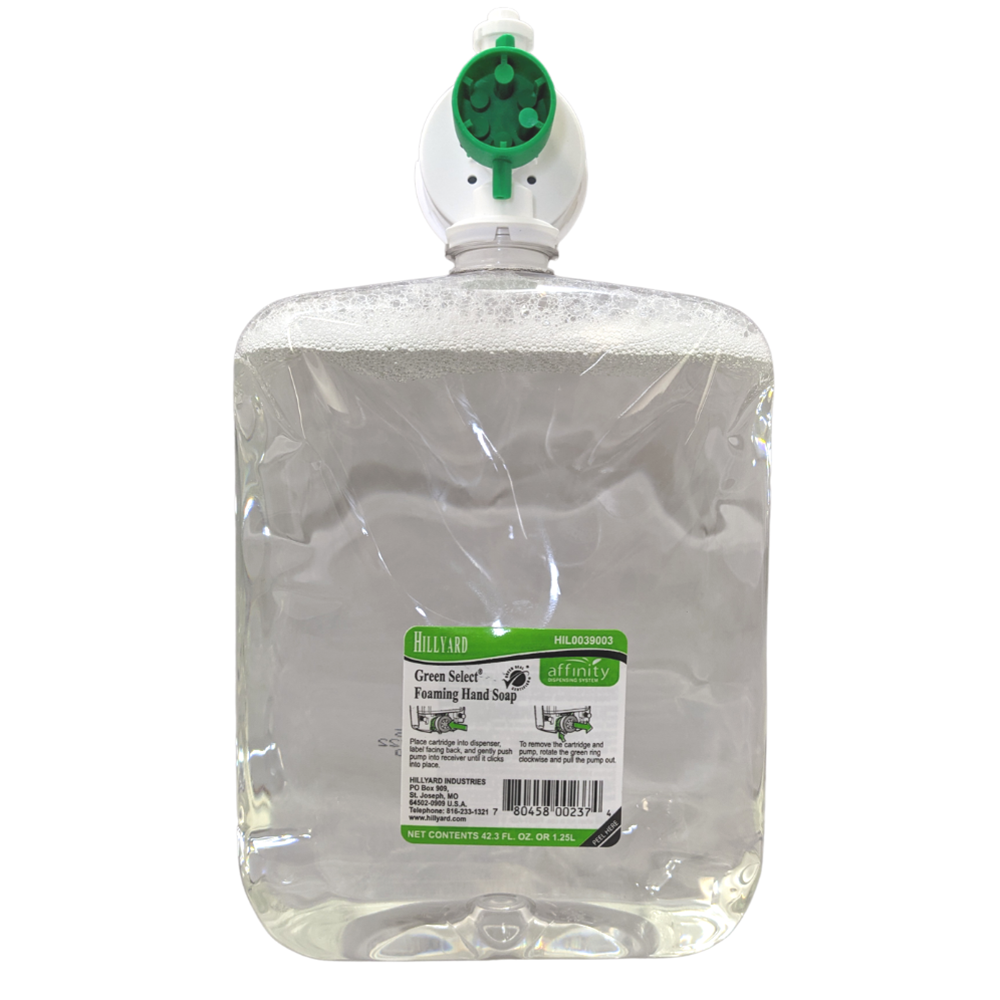 Hillyard, Green Select Foaming Hand Soap, Affinity, HIL0039003, 10780458002371