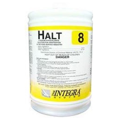 Anderson Chemical Co, Halt, Low Temperature Chlorinated Sanitizer, 4 gallons per case, PKI3530IT13897, sold as 1 gallon.
