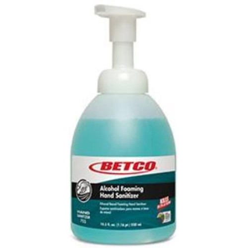 Betco, Clario, Foaming Alcohol Instant Hand Sanitizer, 550ml Bottle, 7555700, sold as 1 bottle, 6 bottles per case