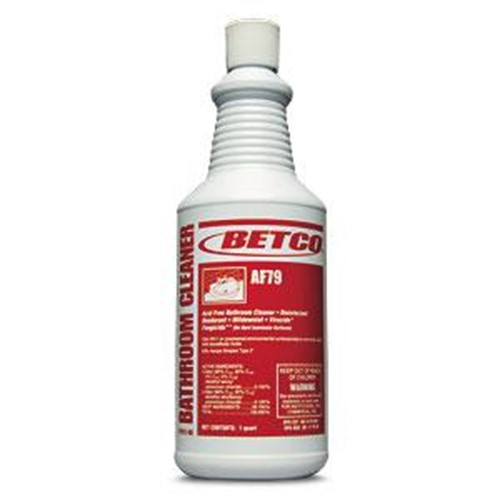 Betco, Cleaners - Bathroom, AF79 Acid Free Bathroom Cleaner, ready to use quart, 0791200, sold per each