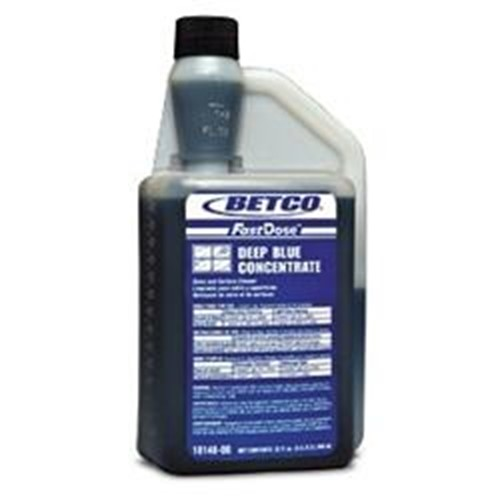 Betco, Deep Blue Glass Cleaner, concentrated 32 oz FastDose bottle, 1814800, sold as 1 bottle, 6 bottles per case