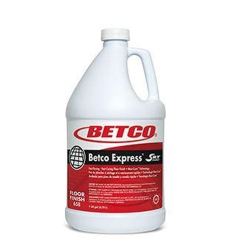 Betco Express Floor Finish, Ready to use, 6580400, sold as 1 gallon, 4 gallons per case