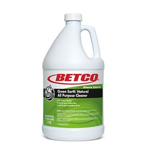 Betco, Green Earth Natural All Purpose Cleaner, 19804-00, four gallons per case, sold as one gallon
