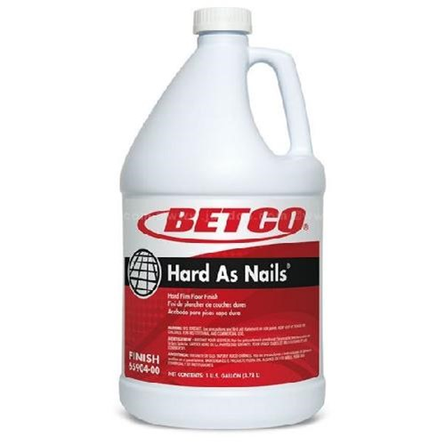 Betco, Hard As Nails Floor Finish, ready to use gallon, 6590400, sold as 1 gallon, 4 gallons per case