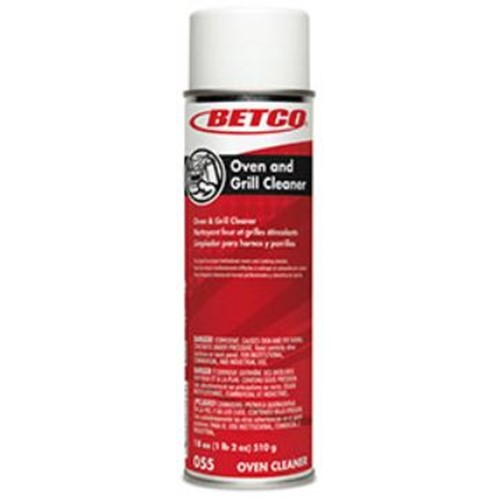 Betco, Oven and Grill Cleaner, 19 oz Ready to Use Aerosol, 0552300,  sold as 1 can, 12 cans per case
