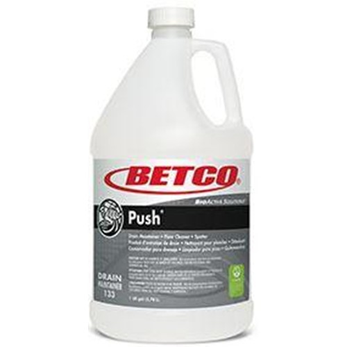Betco, Push, Drain Maintainer, Floor Cleaner and Spotter, 1gal Bottle, 1330400, 4 1gal Bottles per case, sold as 1gal Bottle eac