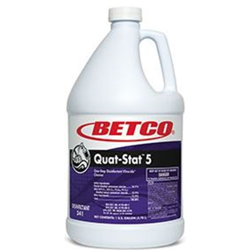 Betco, Quat Stat 5, Concentrate, 3410400, 4 gallons per case, sold as 1 gallon