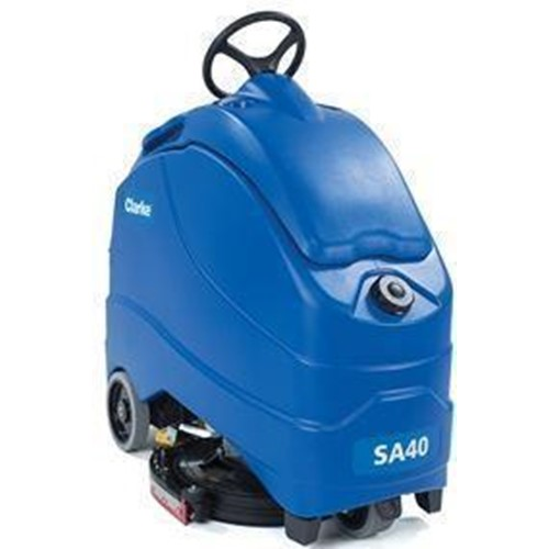 Clarke, SA40 20B Stand On Scrubber, wth 140 AH AGM Batteries, On Board Charger, 56104486, sold as 1 each