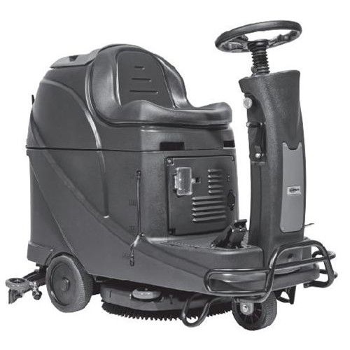 Clarke, Viper AS530R Micro Rider Scrubber, 20 inch with On Board Charger and AGM Batteries, 56385073, sold as 1 each