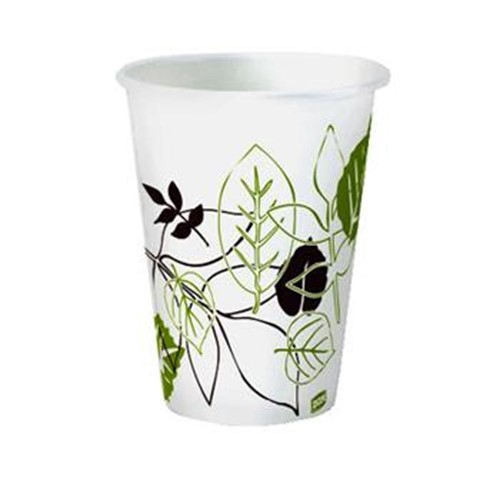 Dixie, Pathways Hot Paper Cup, 12 oz size, DIX2342PATH, 1000 cups per case, sold as 1 case