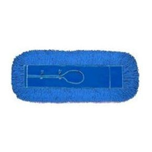 GoldenStar, Infinity Twist Dust Mop, blue 5 x 24, launderable, AJU24CITB, 12 per case, sold as 1 mop