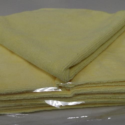 GoldenStar, Microfiber Cleaning Cloth,16x16, yellow for restrooms, IMFC16x16Y, sold as 1 cloth