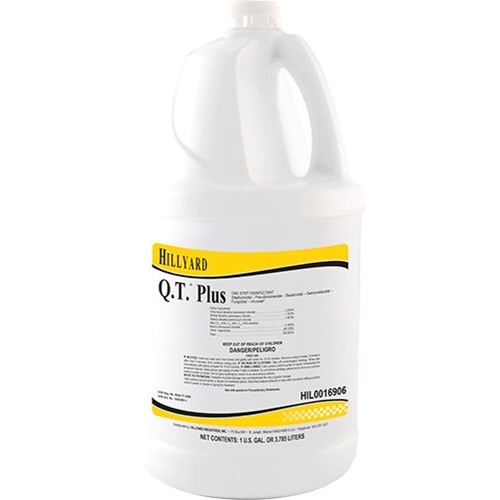 Hillyard, Q.T. Plus, Concentrate, HIL0016906, sold as 1 gallon, 4  gallons per case